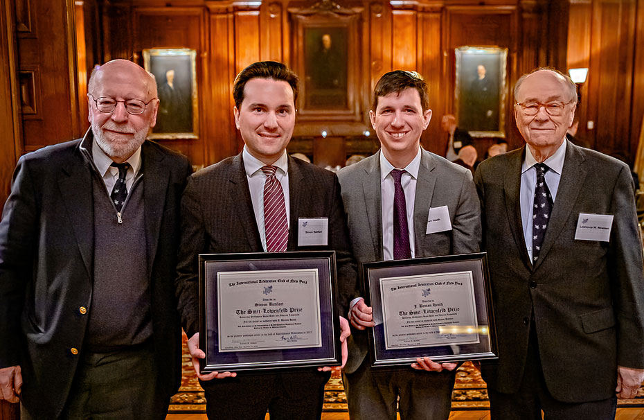Photo of The Eighth Annual Smit‑Lowenfeld Prize
